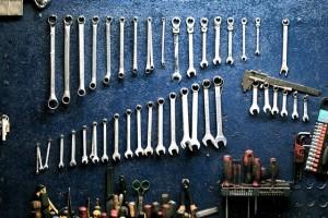 gereedschap voor fietsreparatie